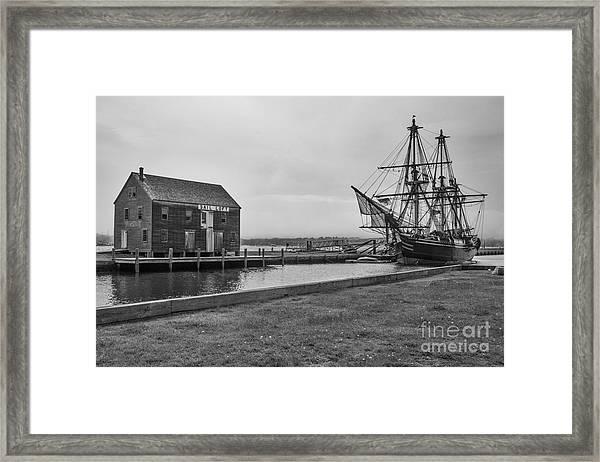 Sail Loft And Clipper Framed Print