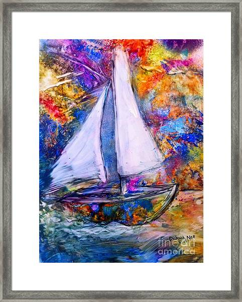 Sail On Framed Print