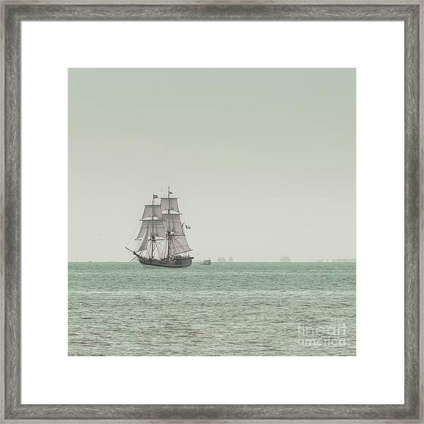 Sail Ship 1 Framed Print