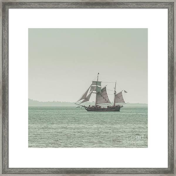 Sail Ship 2 Framed Print