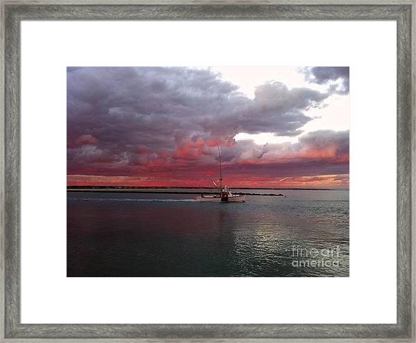 Sailors Delight 2 Framed Print