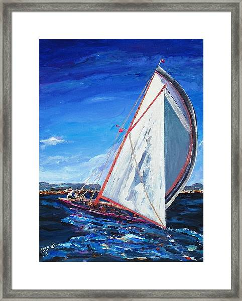 Sailors Framed Print