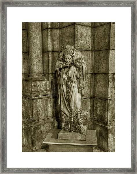 Saint Denis Framed Print