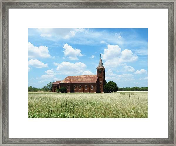 Saint John's Catholic Church Framed Print