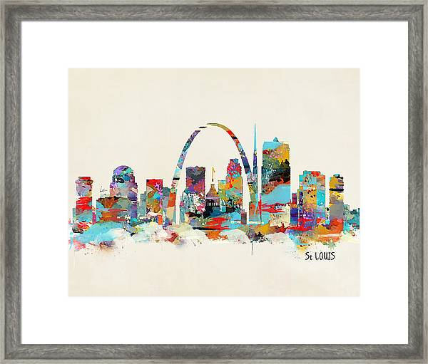 Saint Louis Missouri Framed Print