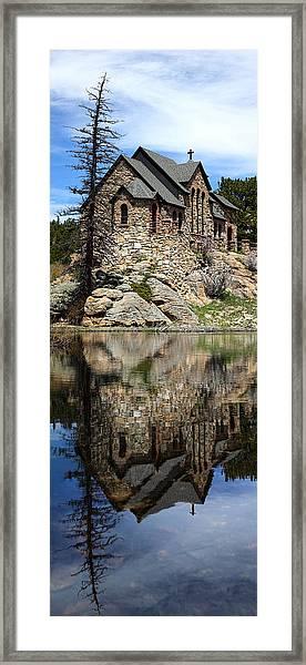 Saint Malo Chapel Framed Print