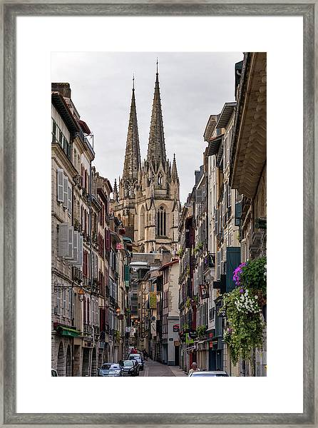 Saint Mary Cathedral Framed Print