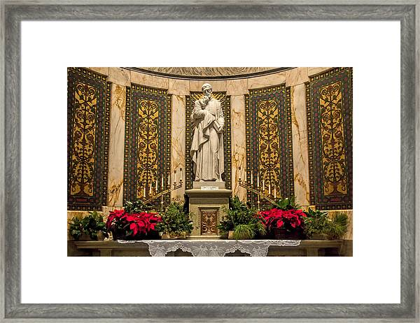 Saint Vincent Depaul Chapel Framed Print