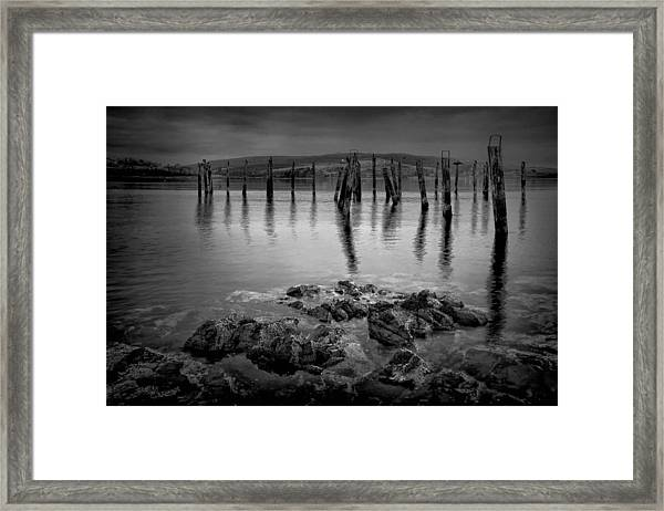 Salen Pier 2 Framed Print
