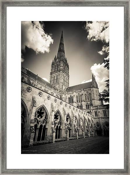 Salisbury - For Eugene Atget Framed Print