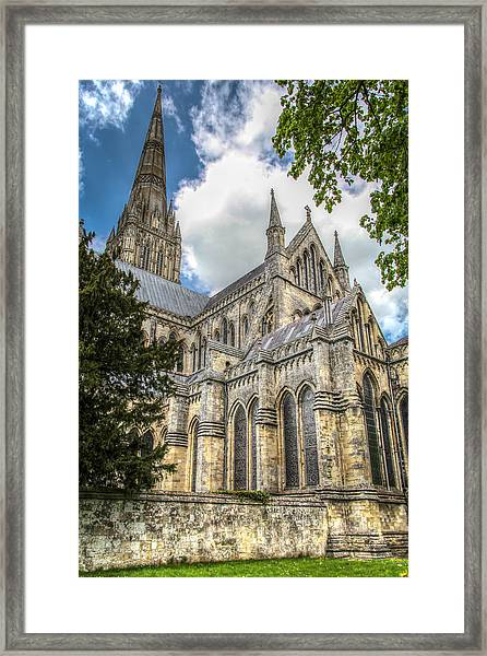 Salisbury In The Morning Framed Print