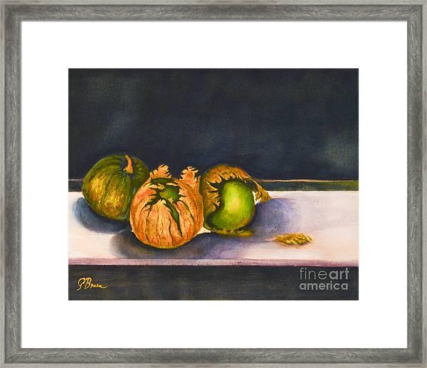 Salsa Verde Framed Print
