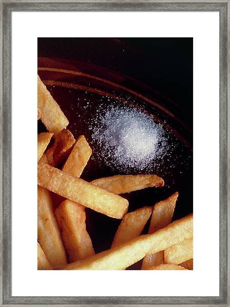 Salt & Chips Framed Print