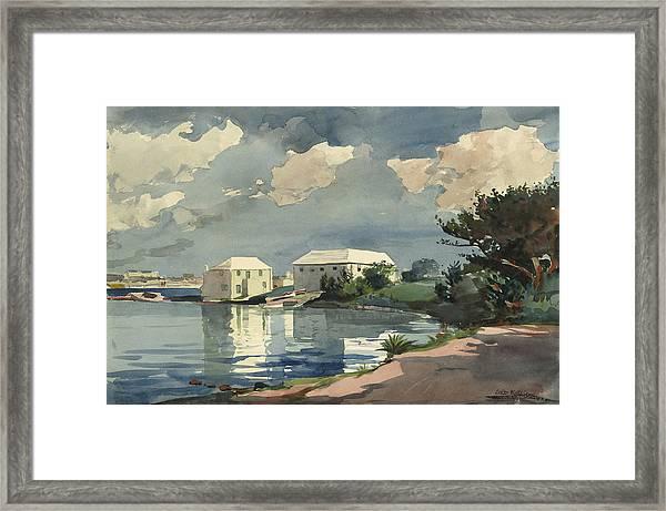 Salt Kettle Bermuda Framed Print