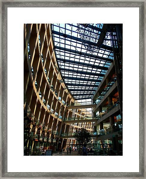 Salt Lake City Public Library Framed Print