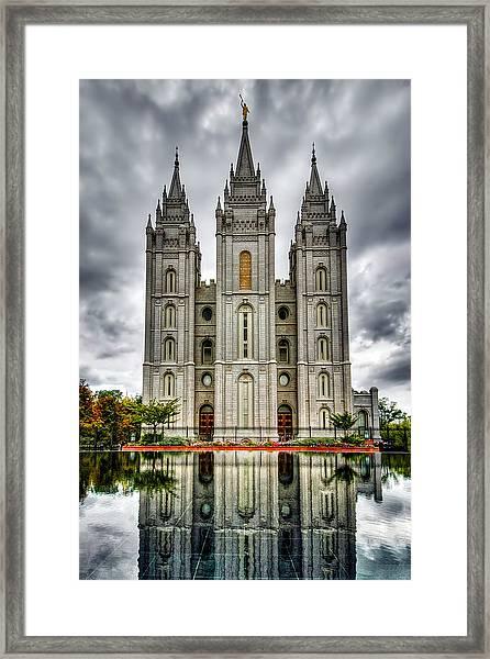 Salt Lake City Temple Framed Print