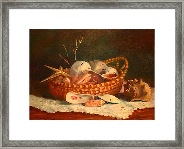 Salty And Sweet Framed Print