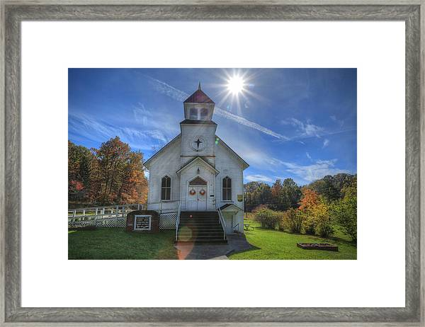 Sam Black Church Framed Print