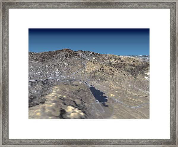 San Andreas Fault Framed Print