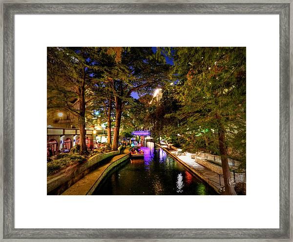San Antonio Hdr 001 Framed Print