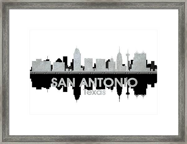 San Antonio Tx 4 Framed Print