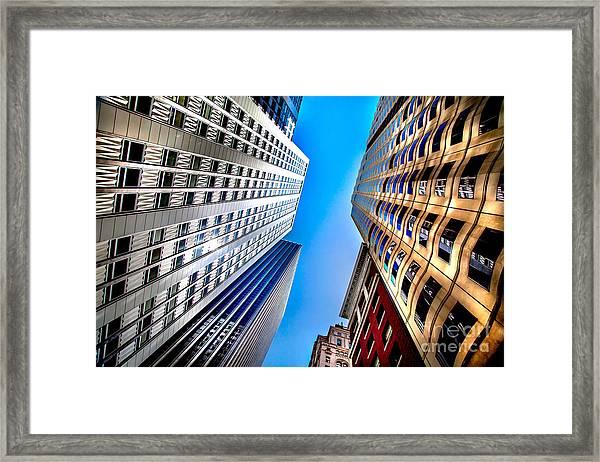 San Central 3 Framed Print