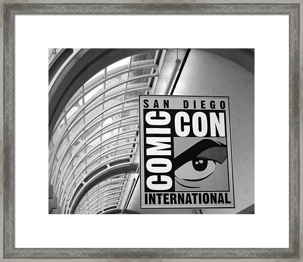 San Diego Comic Con Framed Print