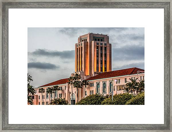 San Diego County Administration Center Framed Print