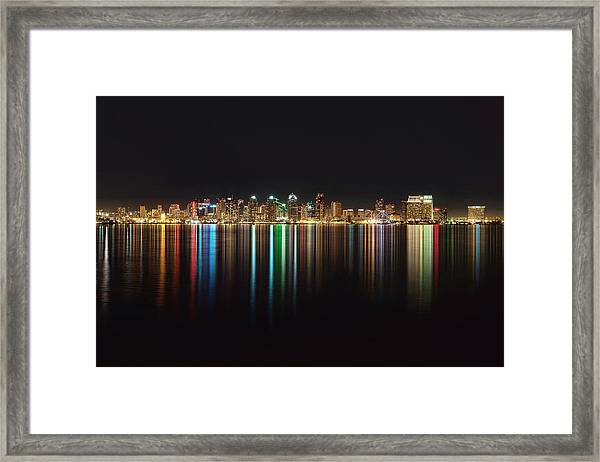 San Diego Reflections Framed Print