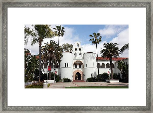 San Diego State University Framed Print