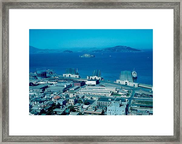 San Francisco 13 1955 Framed Print by Cumberland Warden