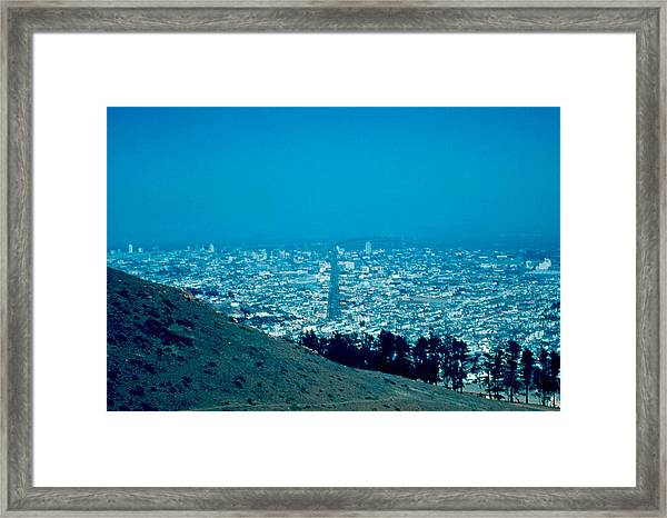 San Francisco 1955 Framed Print by Cumberland Warden