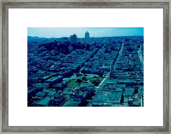 San Francisco 7 1955 Framed Print by Cumberland Warden