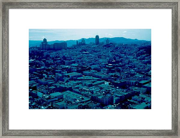 San Francisco 8 1955 Framed Print by Cumberland Warden