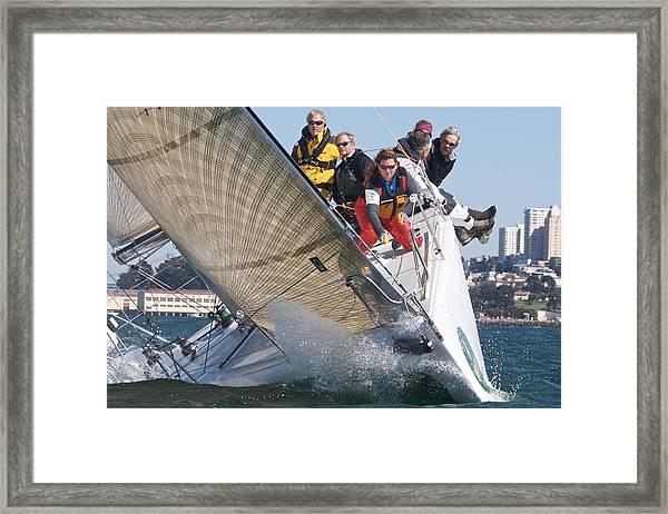 Hyperbolic Framed Print by Steven Lapkin