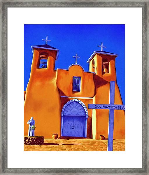San Francisco De Asis Framed Print