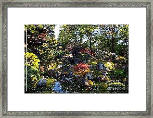 San Francisco Golden Gate Park Japanese Tea Garden 2 Framed Print