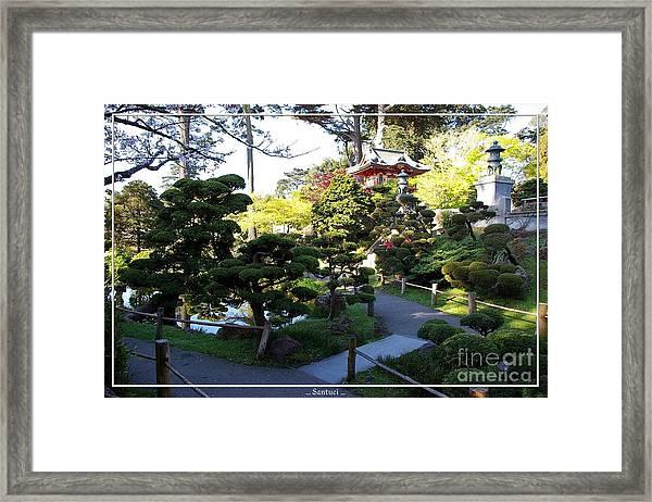 San Francisco Golden Gate Park Japanese Tea Garden 6 Framed Print