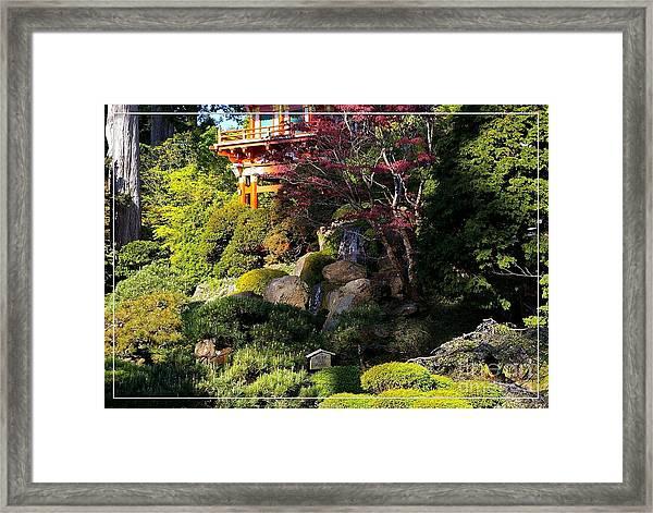 San Francisco Golden Gate Park Japanese Tea Garden 9 Framed Print