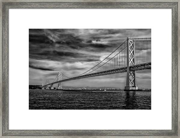 San Francisco - Oakland Bay Bridge Framed Print