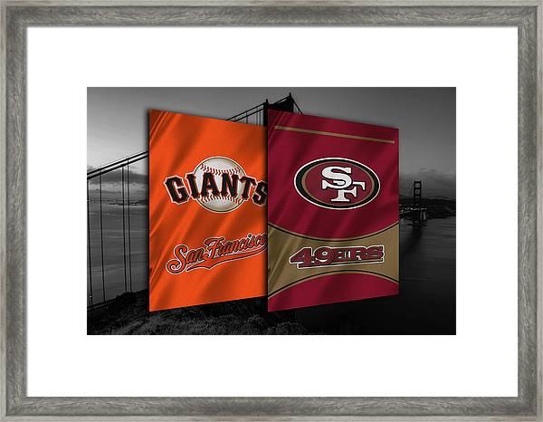 San Francisco Sports Teams Framed Print