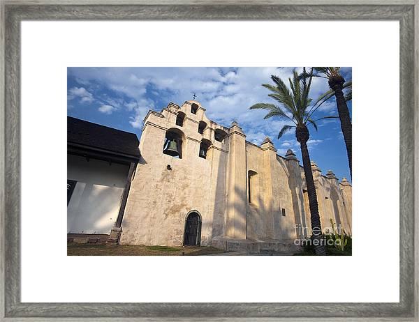 San Gabriel Mission Framed Print