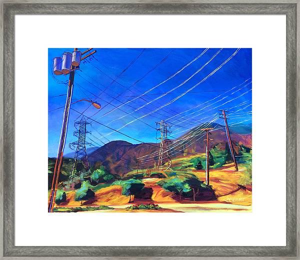 San Gabriel Power Framed Print