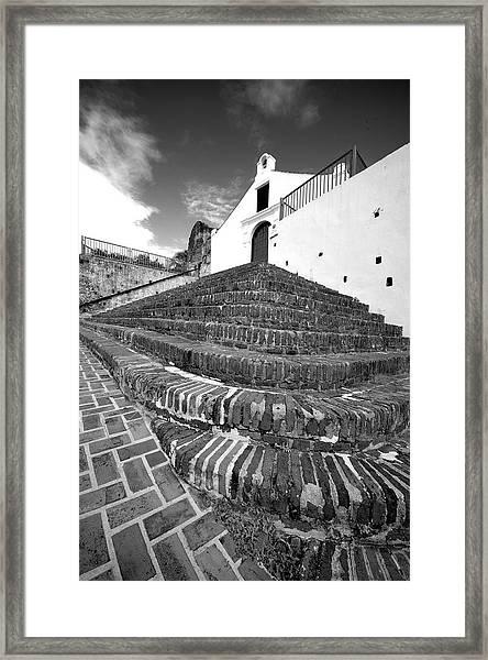 San German 4791bw Framed Print