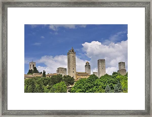 San Gimignano Framed Print