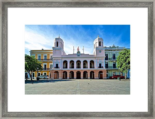 San Juan City Hall Framed Print