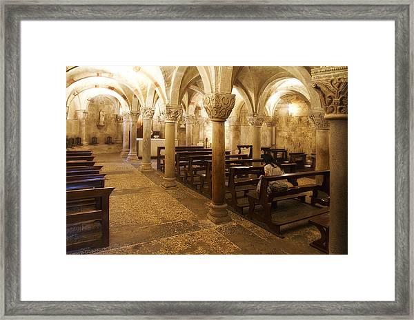 San Michele Chapel Framed Print