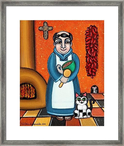San Pascual And Felix Framed Print