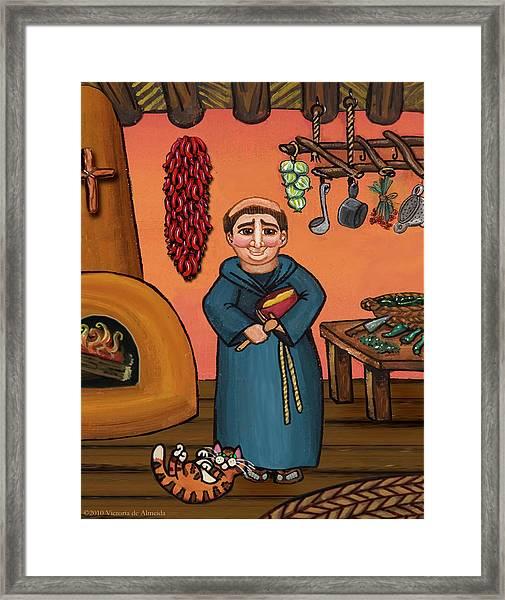 San Pascual And Vigas Framed Print