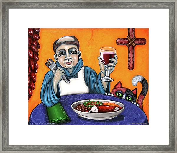 San Pascual Cheers Framed Print